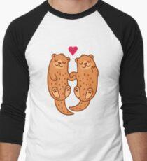 Otterly adorable Men's Baseball ¾ T-Shirt