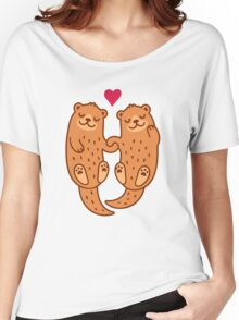 Otterly adorable T-shirt femme coupe relax