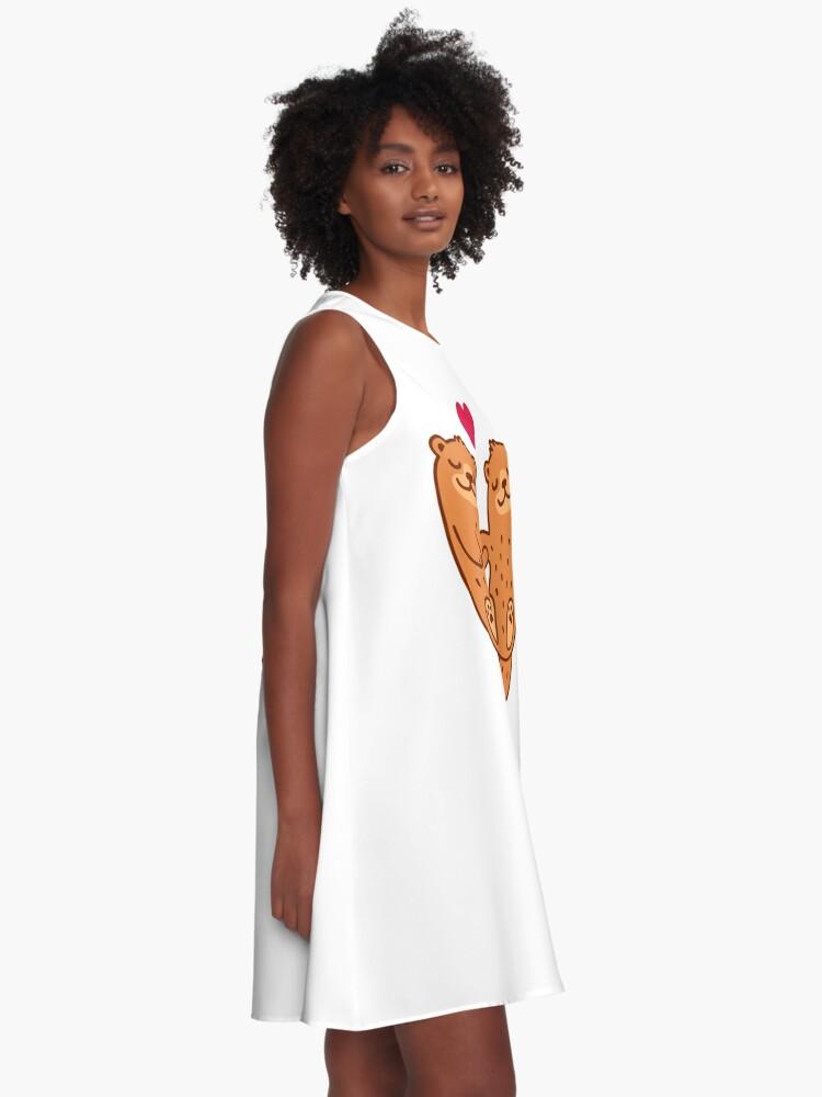 Alternative Ansicht von Otterly bezaubernd A-Linien Kleid