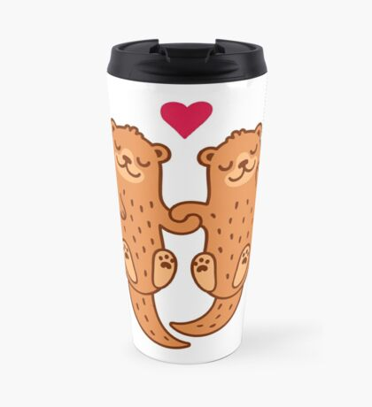 Otterly adorable Mug de Voyage