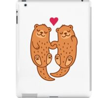 Otterly adorable iPad Case/Skin