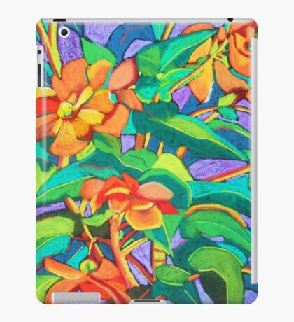 Orange Begonia iPad Case/Skin