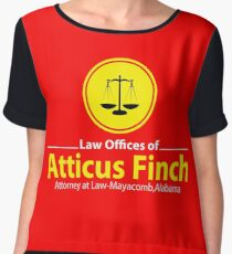 ATTICUS FINCH LAW Women's Chiffon Top