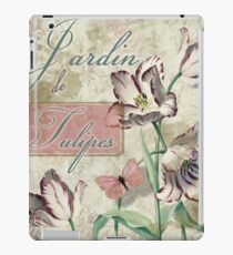 Jardin de Tulipes iPad Case/Skin