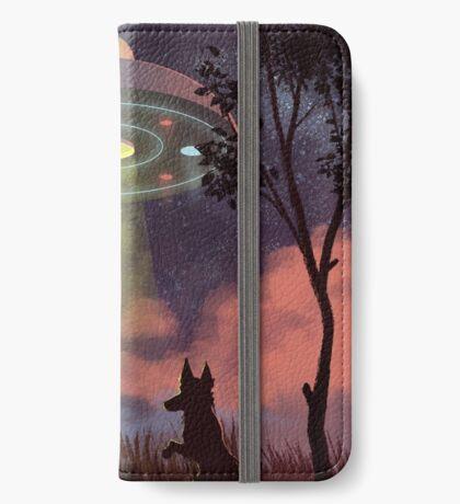 UFO Sighting Étui Portefeuille iPhone
