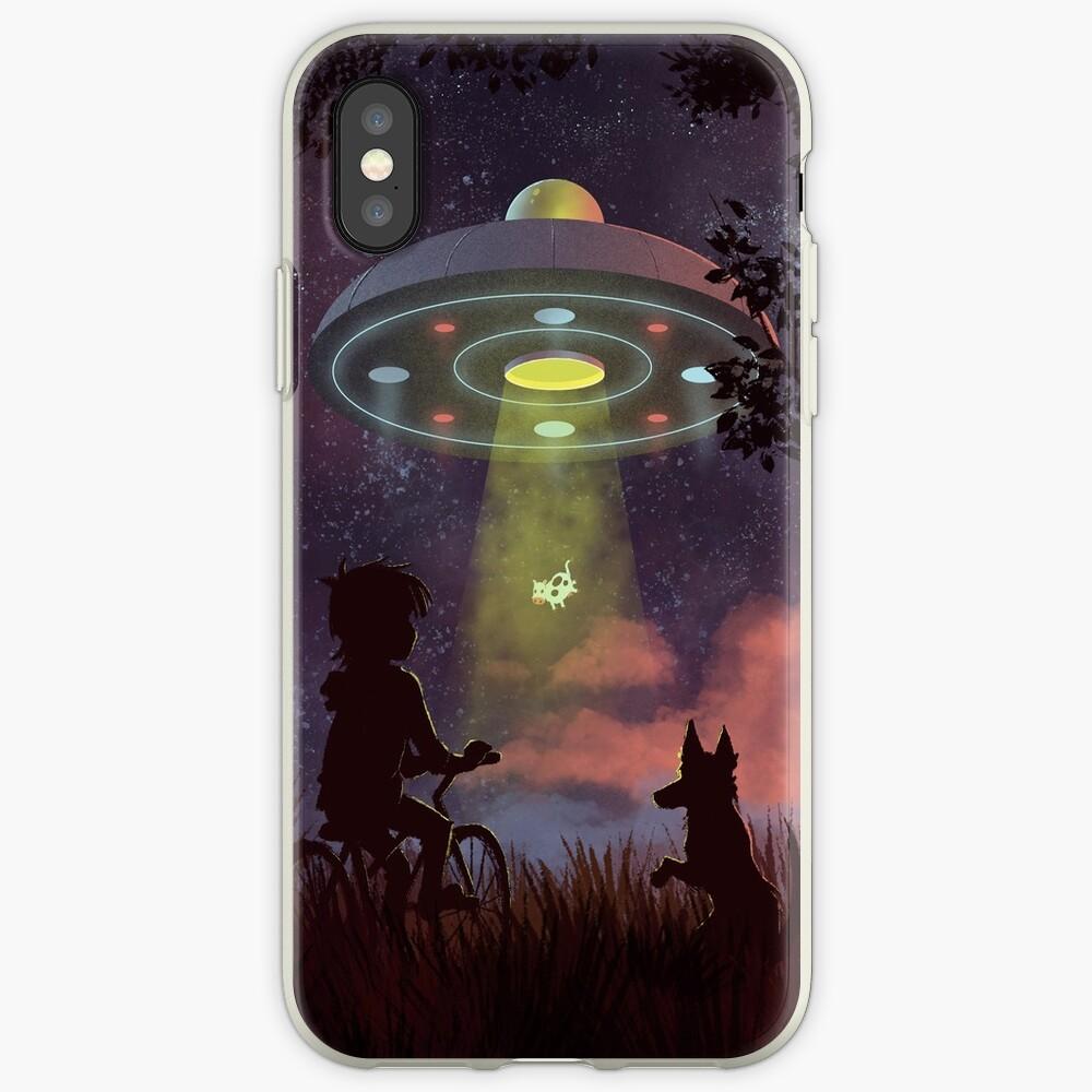 UFO Sichtung iPhone-Hüllen & Cover