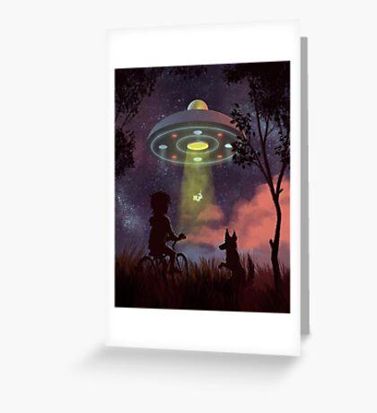 UFO Sighting Carte de vœux