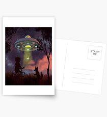 UFO Sighting Postcards