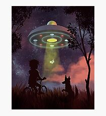 UFO Sighting Photographic Print