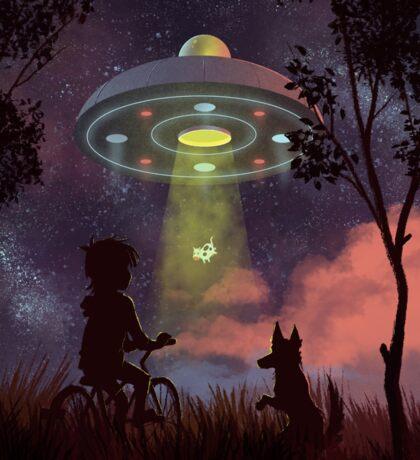 UFO Sighting Sticker