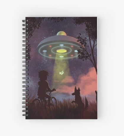 UFO Sighting Spiral Notebook