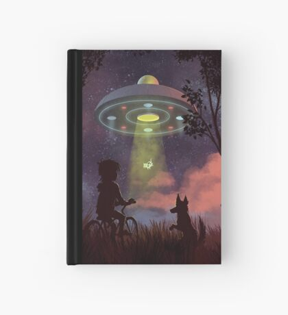 UFO Sighting Hardcover Journal