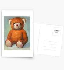Brown Teddy Postcards