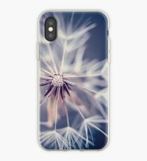 Dandelion Blue iPhone Case