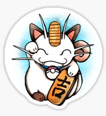 Maneki-Meowth Sticker