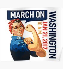 Womens march on washington 2017 Poster