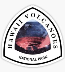 Hawaii Volcanoes National Park Sticker