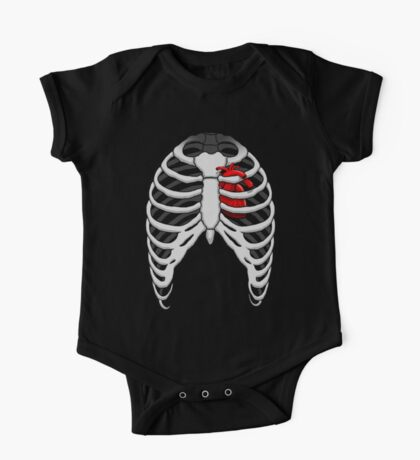 Ribcage Heart Kids Clothes