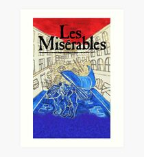 Lámina artística Los Miserables