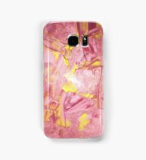 Pink and Gold Paint Samsung Galaxy Case/Skin