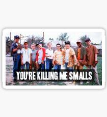 You're Killing Me Smalls Sticker
