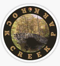 Rock Creek Park circle Sticker
