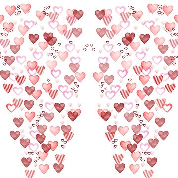 Heart Leggings for Valentine's Day by gharkness