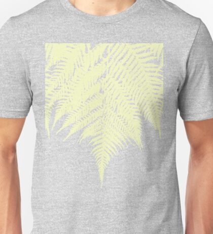 Concrete Fern Yellow Unisex T-Shirt