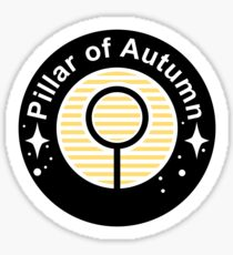 Pillar of Autumn Emblem Sticker