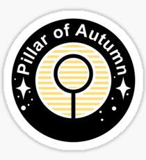 Pillar of Autumn Emblem Sticker