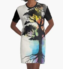 Natural Source  Graphic T-Shirt Dress