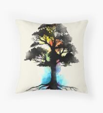 Natural Source  Throw Pillow