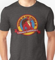 Where in the World is Carmen Sandiego? T-Shirt