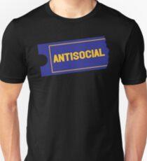 Antisocial Video Unisex T-Shirt