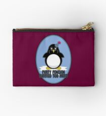 Party Penguin Partied Too Hard Studio Pouch