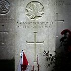 A Canadian Soldier, Known Unto God by Country  Pursuits