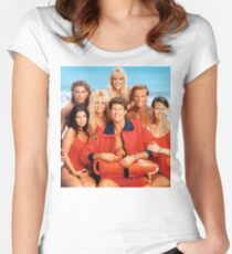 baywatch Women's Fitted Scoop T-Shirt