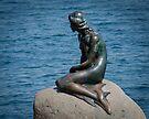 Copenhagen, Denmark's Little Mermaid by Gerda Grice