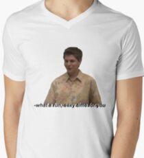 Fun and Sexy Mens V-Neck T-Shirt