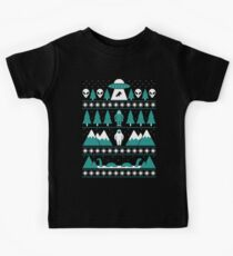 Paranormal Christmas Sweater Kids Tee