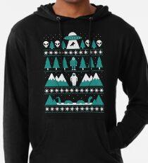 Sudadera con capucha ligera Suéter de Navidad Paranormal