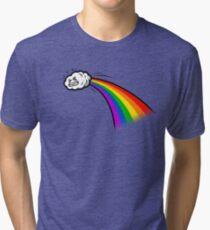 A Rainbows Origin Tri-blend T-Shirt