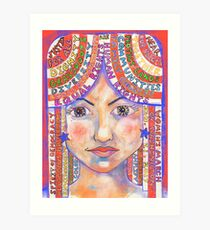 Colorful Manifesto for the Women's March on Washington Art Print