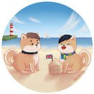 Shibe phan in the beach by backin2009