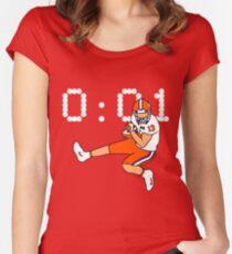 Clemson Game Winning Touchdown Women's Fitted Scoop T-Shirt