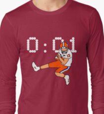 Clemson Game Winning Touchdown Long Sleeve T-Shirt
