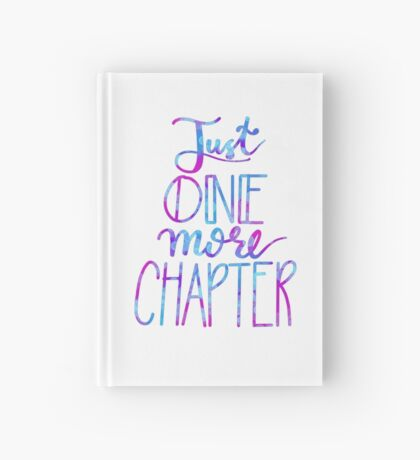 Just One More Chapter Hardcover Journal