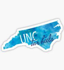 UNC Tar Heels Inspired Sticker Sticker