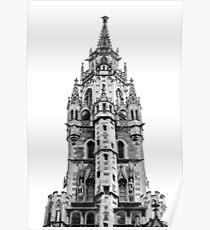 Munich Spire Poster
