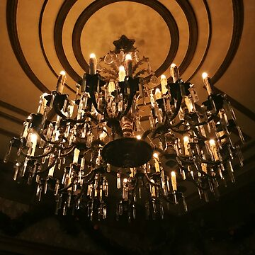 Haunted Mansion Chandelier by AliceCorsairs